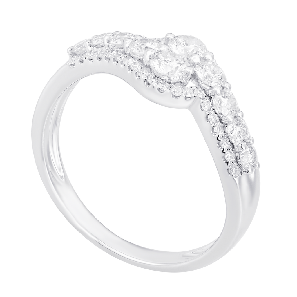 Trendy Stylish Diamond Ring - KARP Jewellery