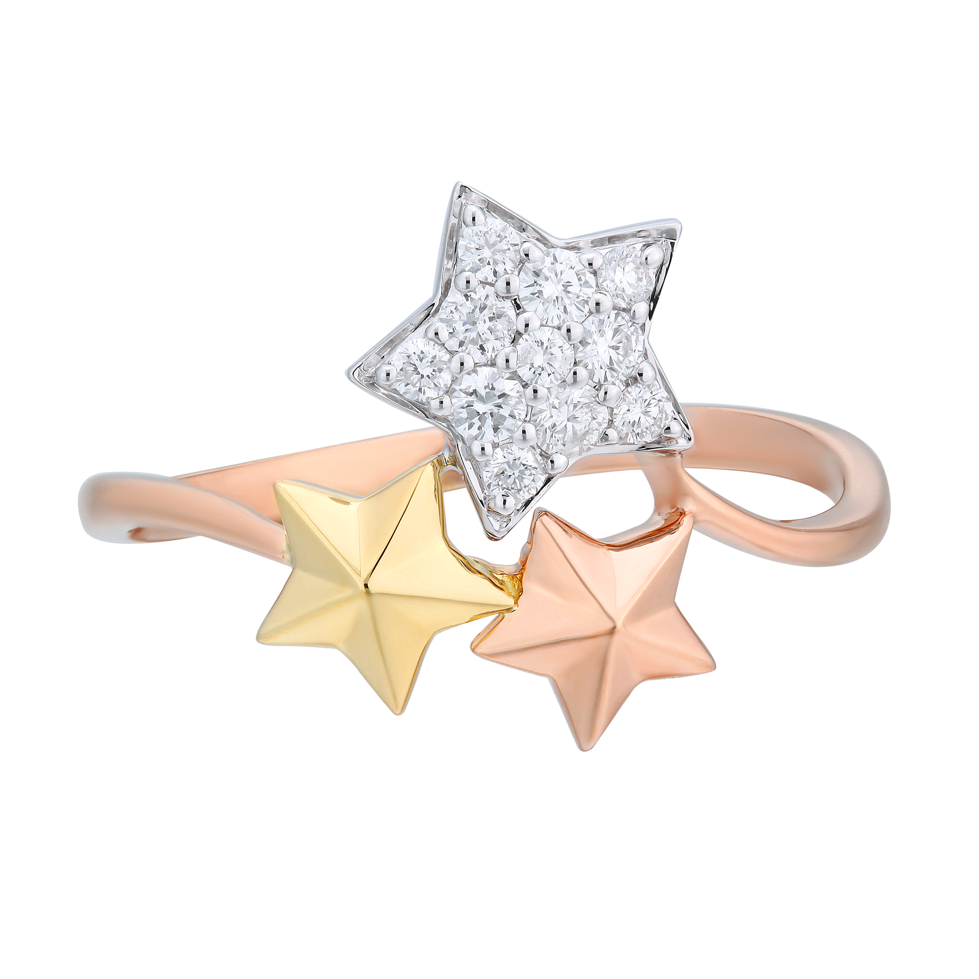 Bling Bling Little Star Ring - KARP Jewellery