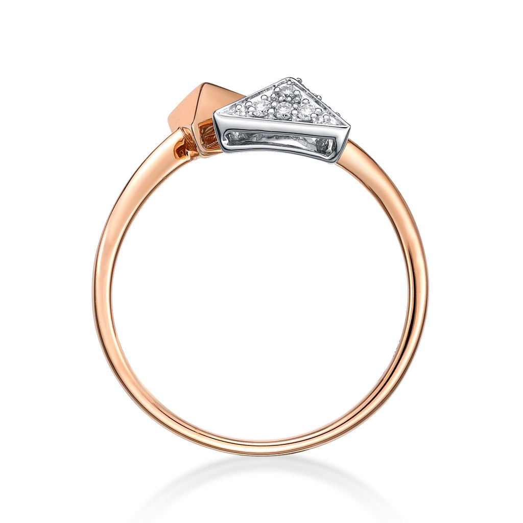 Pyramid Pair Fashion Ring - KARP Jewellery