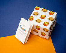 Load image into Gallery viewer, Burger Fries Rapping Paper