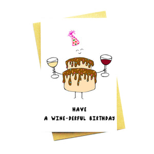 Have A Wine-derful Birthday