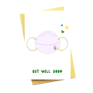 PRE-ORDER: Get Well Soon Mask