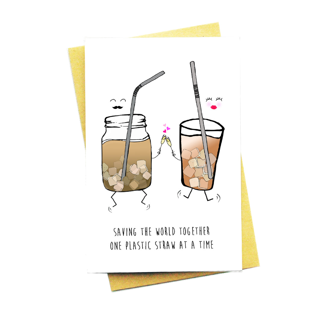 Saving The World Together...One Plastic Straw At A Time