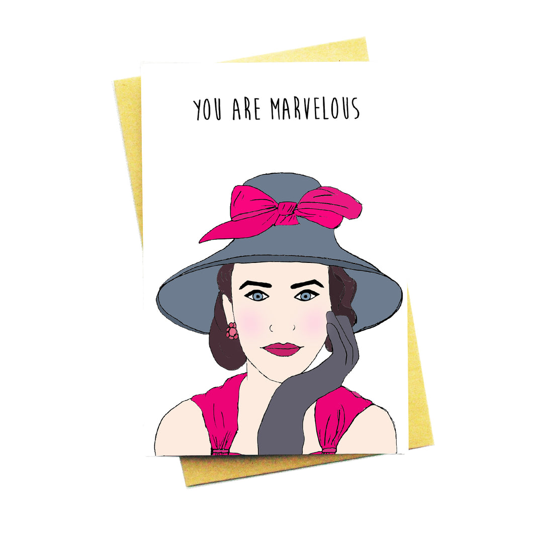 You Are Marvelous