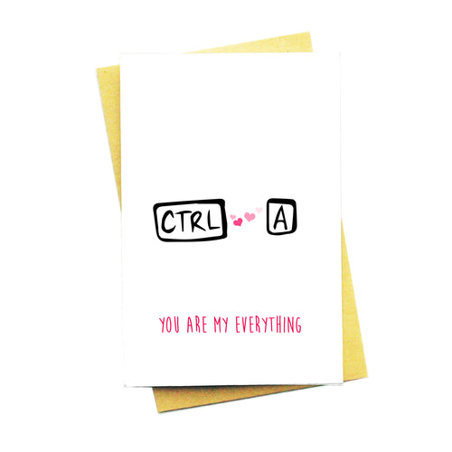 Ctrl A: You Are My Everything