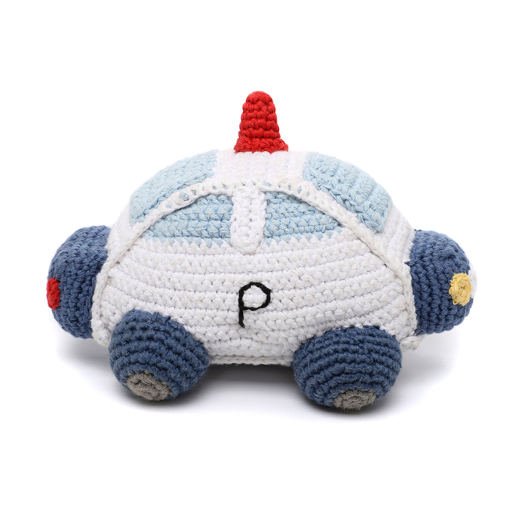 Pebble Rattle – Police Car