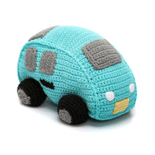 Pebble Rattle – Car Turquoise