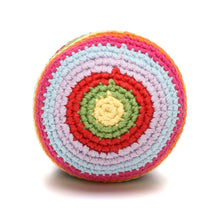 Pebble Rattle – Stripey Ball Multi Top