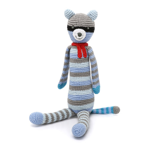 Pebble Rattle – Raccoon