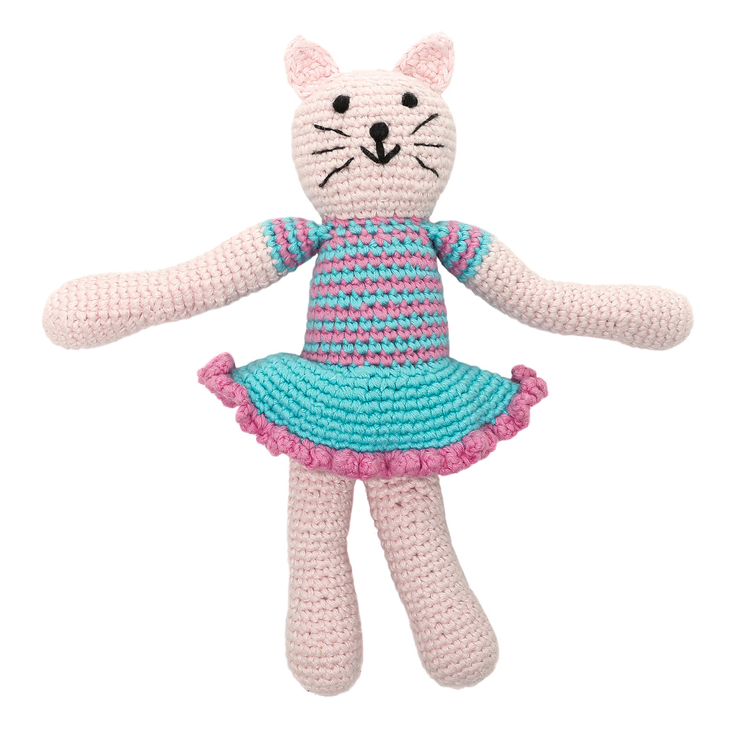Pebble Rattle – Cat Girl