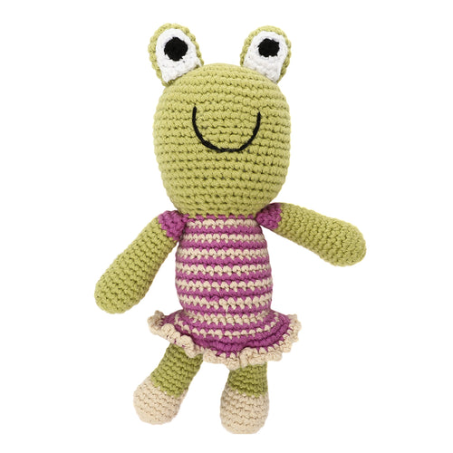 Pebble Rattle – Frog Girl