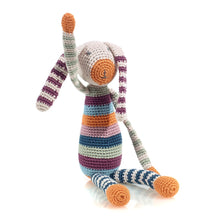 Pebble Organic – Stripey Bunny Multi