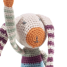 Pebble Organic – Stripey Bunny Multi 2