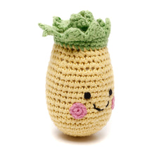 Pebble Food Rattle – Friendly Pineapple left