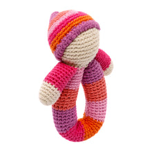 Pebble Rattle – Pixie Ring Pink
