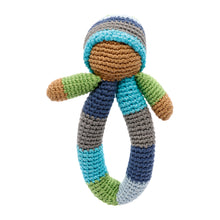 Pebble Rattle – Pixie Ring Blue