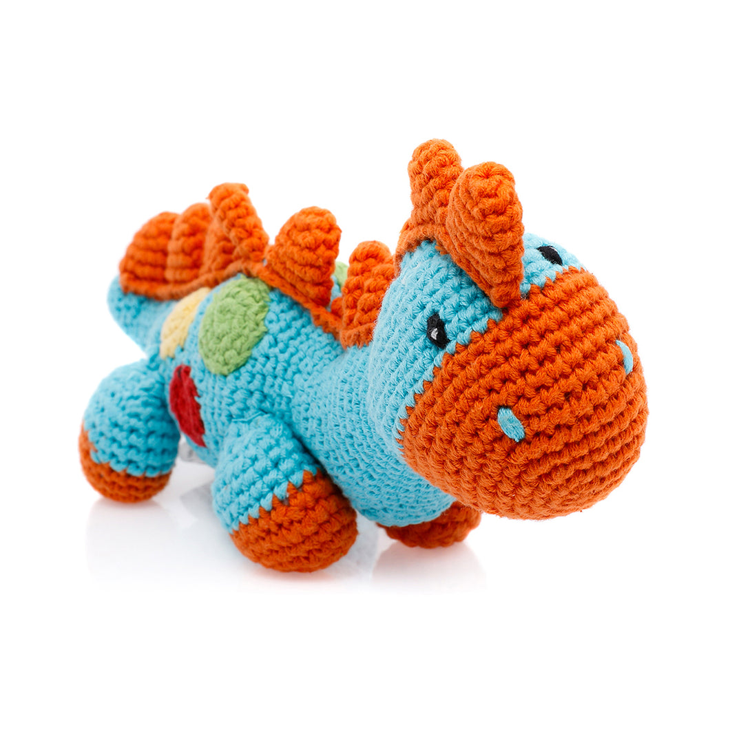 Pebble Rattle – Dinosaur Steggi