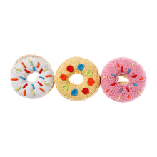 Pebble Food Rattle – Donut Pink
