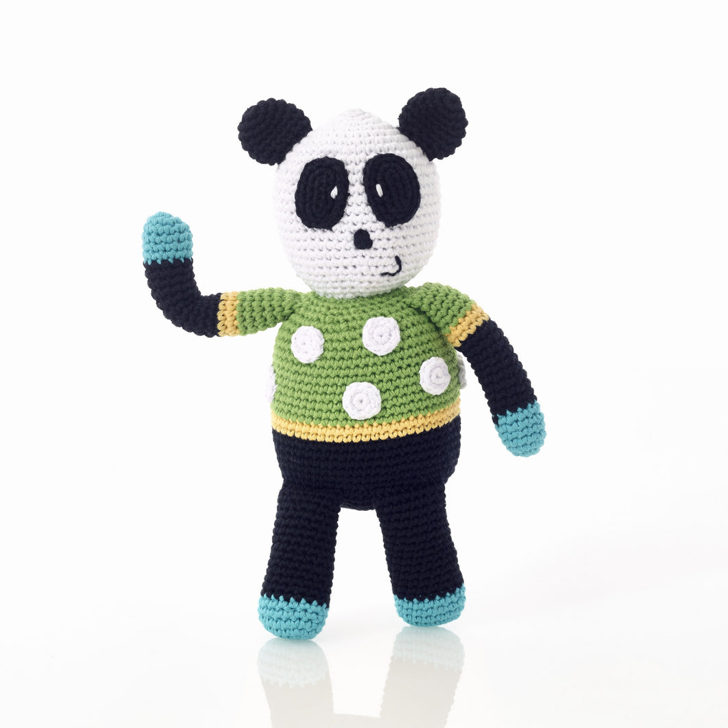Pebble Rattle – Panda