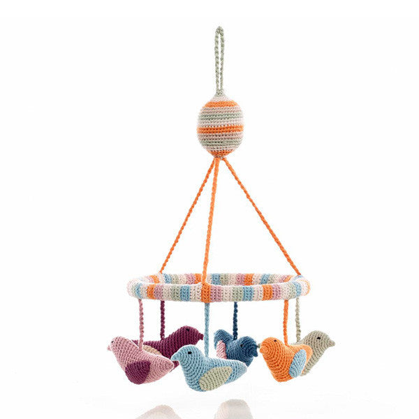 Pebble Nursery - Mobile Organic Birds