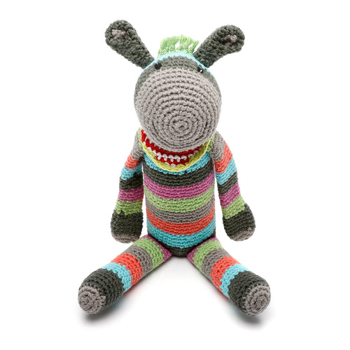 Pebble Rattle - Donkey