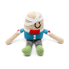 Pebble Rattle - Humpty Dumpty sitting