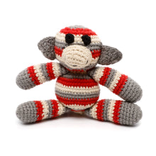 Pebble Rattle – Monkey Red 2