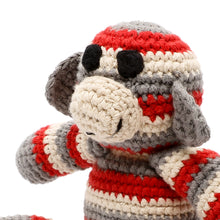 Pebble Rattle – Monkey Red 3