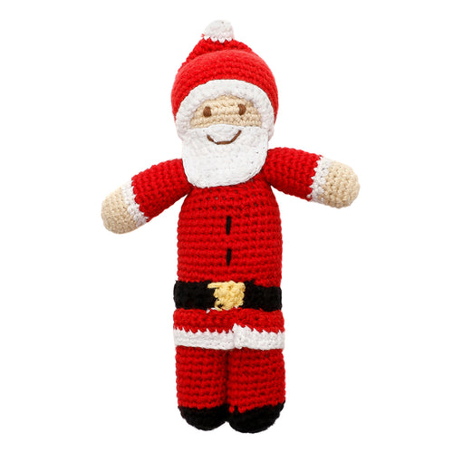 Pebble Rattle – Santa Claus