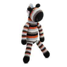 Pebble Rattle - Zebra standing