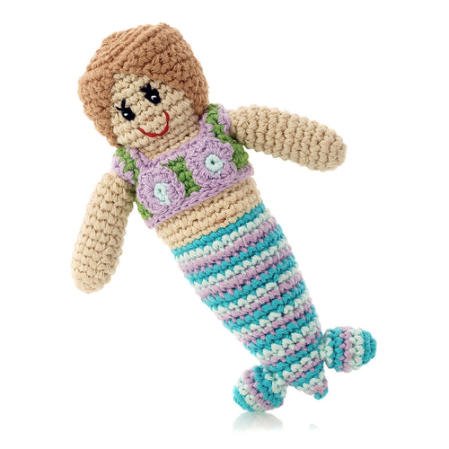Pebble Rattle – Mermaid