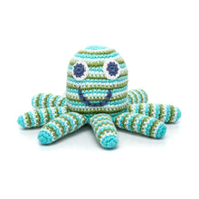 Pebble Rattle – Octopus Green
