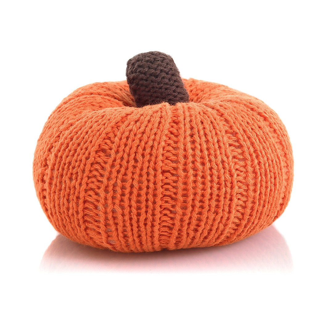 Pebble Food Rattle – Pumpkin