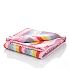 Pebble Nursery - Blanket Rainbow Pastel