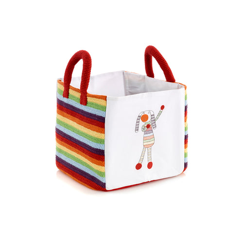 Pebble Nursery - Toy Box Rainbow Bunny