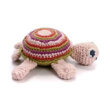 Pebble Rattle – Turtle Pink 2
