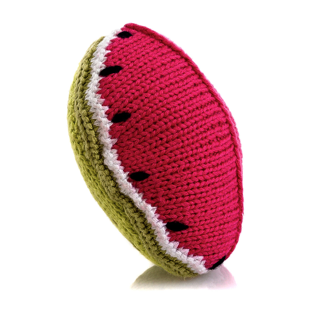 Pebble Food Rattle – Watermelon