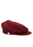 Red Velvet Cap created by Azerbaijan fashion designer
