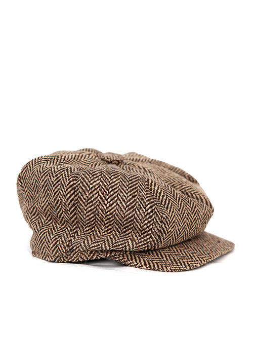 Brown Cap created by Azerbaijan fashion designer