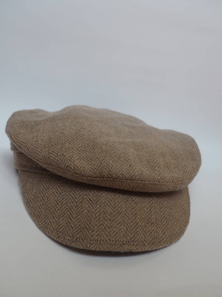 Light Beige Cap created by Azerbaijan fashion designer
