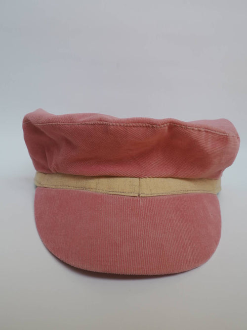 change variation of Pink Velvet Cap created by Azerbaijan fashion designer