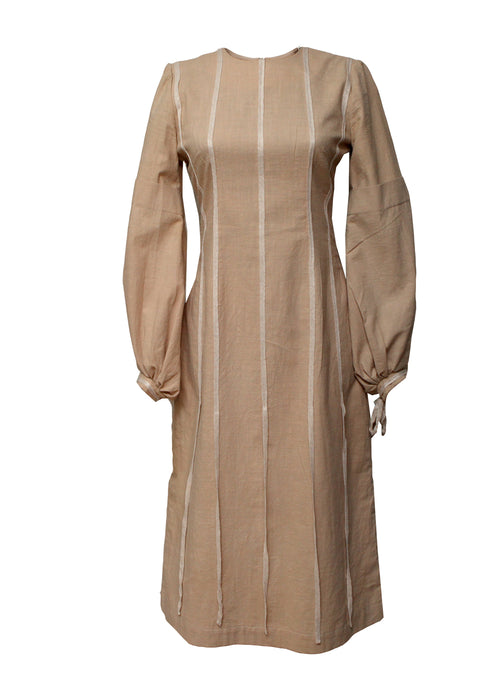 Beige Dress created by Azerbaijan designer