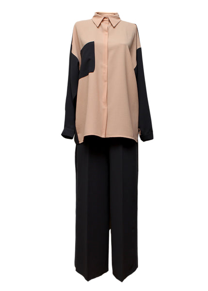 Oversize Shirt and Pants created by Azerbaijani designer SIDA