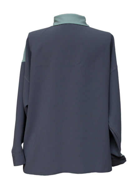 back view of Oversize Shirt created by Azerbaijani designer SIDA