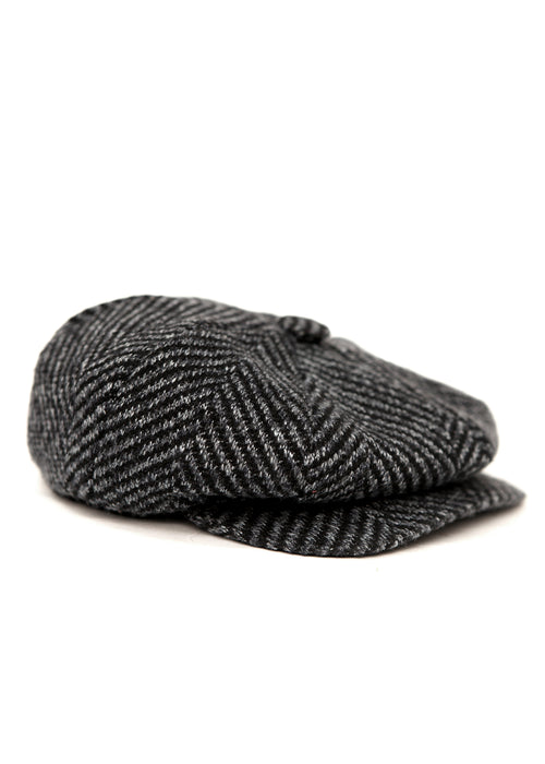 Grey Wool Cap