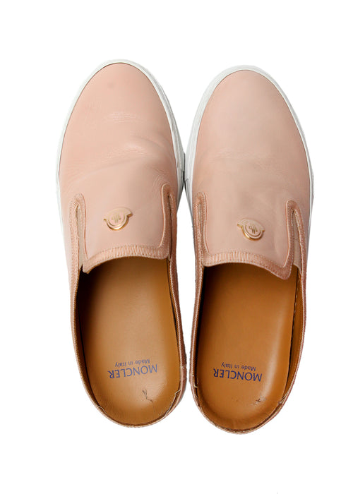 Leather Mule Slip On