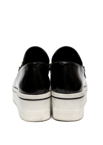 back view of Luxury STELLA MCCARTNEY Faux Leather Slip On