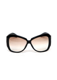 Pre owned GUCCI Black Shaped Sunglasses
