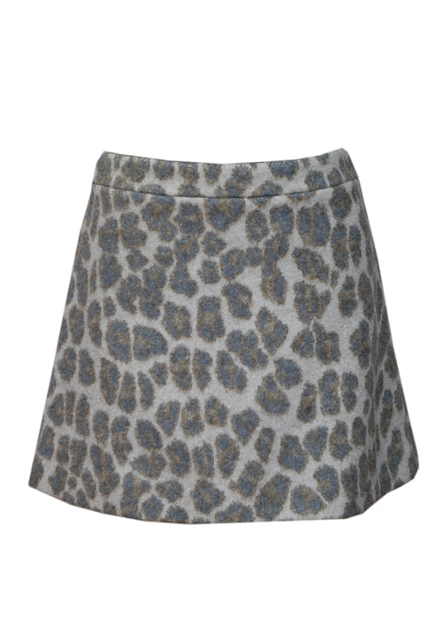 Luxury STELLA MCCARTNEY Wool Mini Skirt