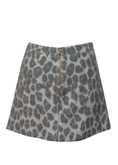 Wool Mini Skirt